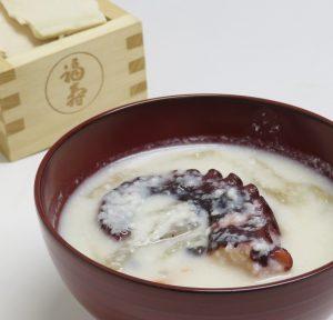 新メニュー! 2月数量限定 酒粕料理三品(雑煮、寿司、おはぎ)