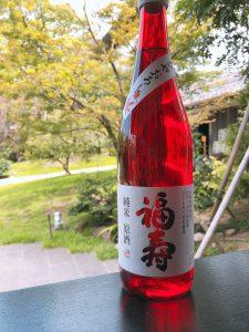 福寿 コウノトリ純米原酒「ひやおろし」を限定販売いたします