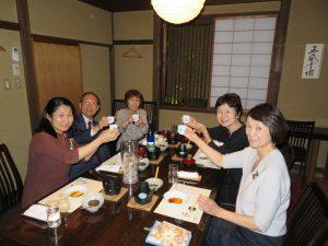 日本酒の日(2018.10.1)福寿で一斉乾杯【ご報告】