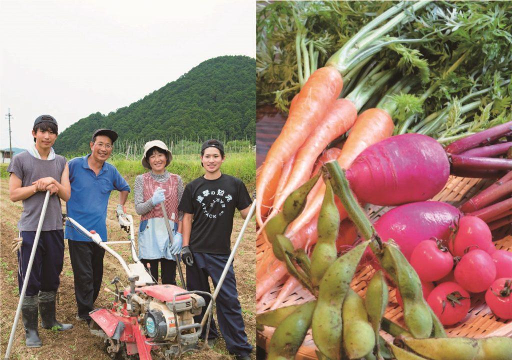 11月のうまいもん/婦木農場の野菜