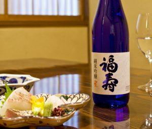12月10日は夜にご来店のお客様に「福寿 純米吟醸」を1杯サービス|終了いたしました