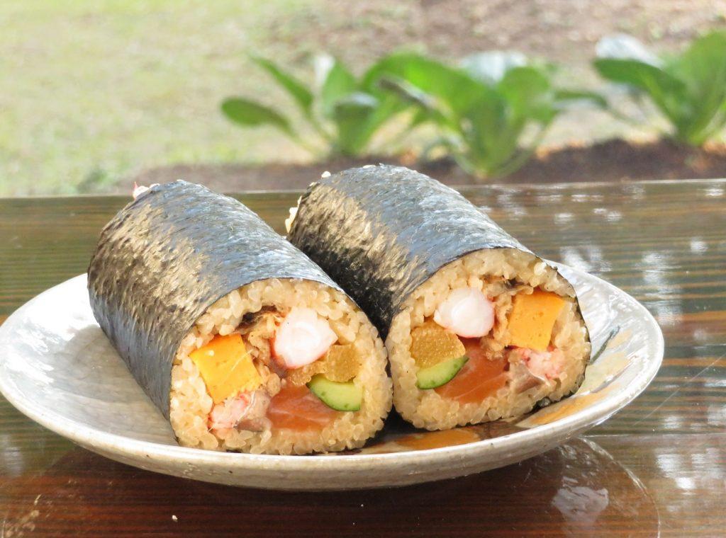 【2/2 節分限定】 節分蕎麦すき鍋と招福巻セット