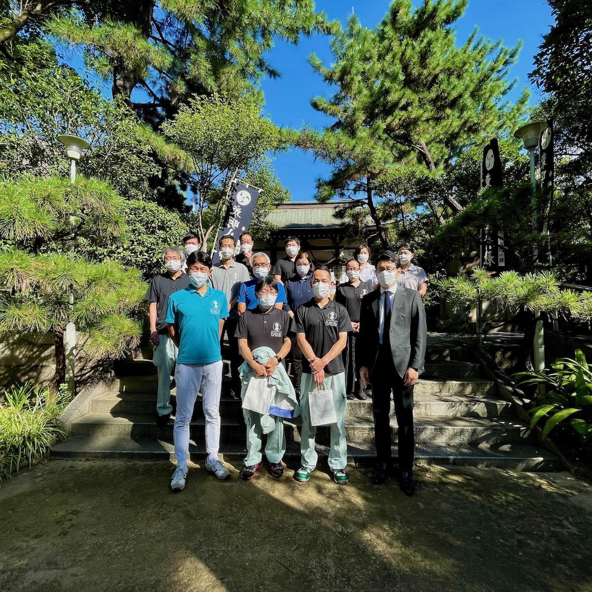 東明八幡神社にて醸造祈願祭が執り行われました