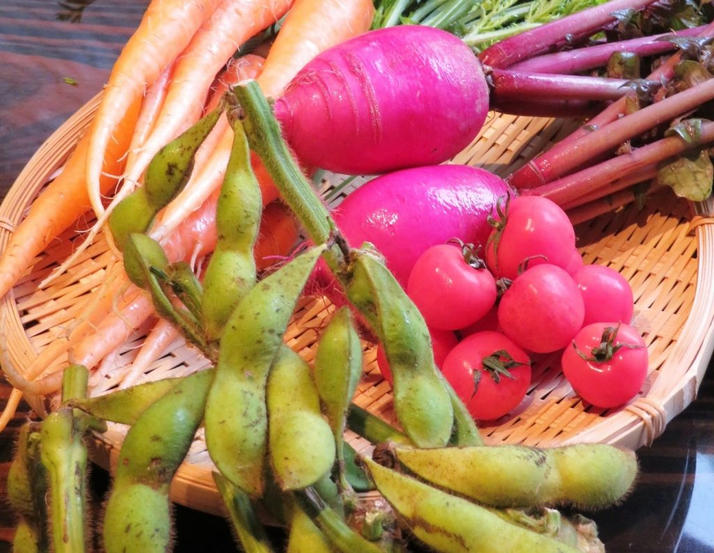 10月のうまいもん/婦木農場の秋野菜